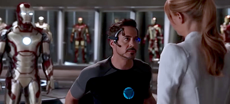"I'm just a man in a can"" — Iron Man 3 
