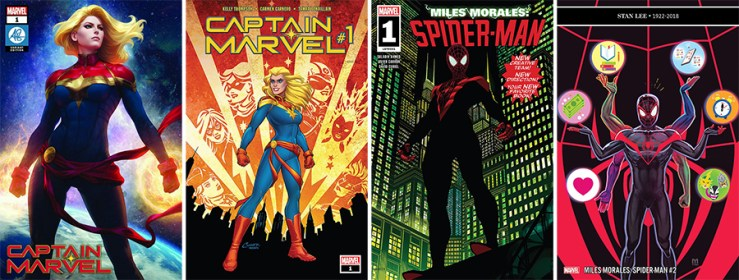 Blog Post Featured Image - Pull List: Captain Marvel and Miles Morales: Spider-Man Get Back to Basics