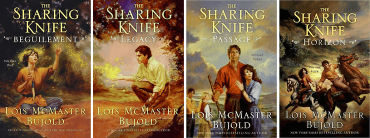 Blog Post Featured Image - Sleeps With Monsters: Revisiting Lois McMaster Bujold's Sharing Knife