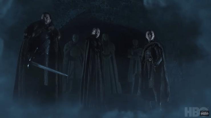 Game of Thrones season 8 teaser premiere date April 14 Jon Snow Arya Stark Sansa Stark