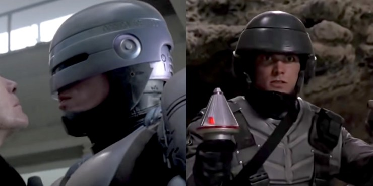RoboCop and Starship Troopers
