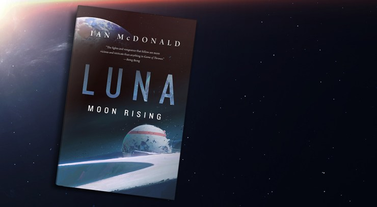 Blog Post Featured Image - A Shaky Resolution: Luna: Moon Rising by Ian McDonald