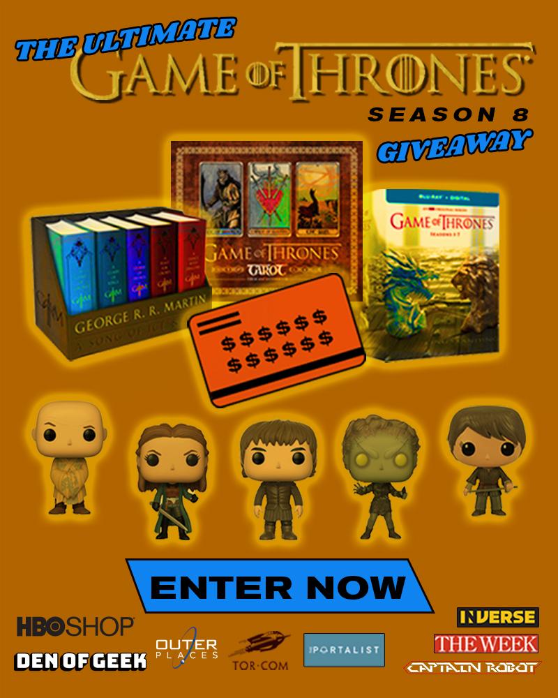 Game of Thrones Ultimate Season 8 sweepstakes