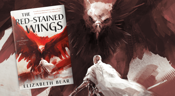 Blog Post Featured Image - Read the First Chapter of Elizabeth Bear's The Red-Stained Wings