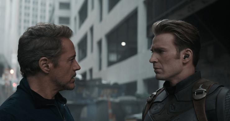 Avengers: Endgame Marvel Cinematic Universe what rewards do superheroes deserve Tony Stark rest Morgan Steve Rogers Cap Peggy