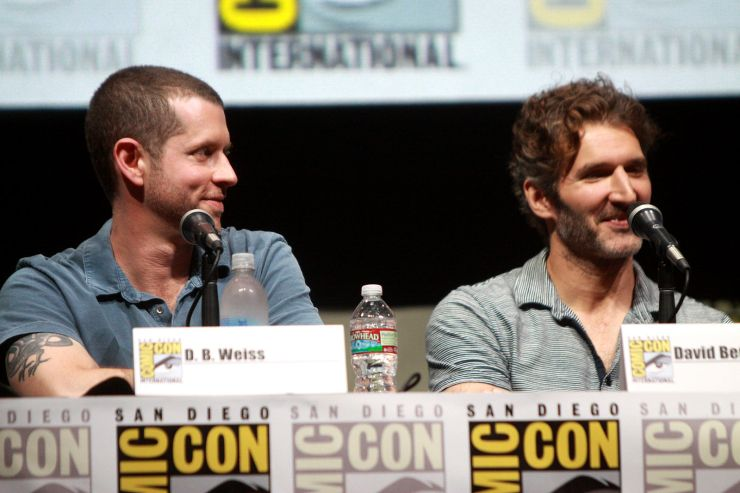 David Benioff D.B. Weiss Game of Thrones Star Wars