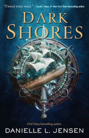 Dark Shores, cover, Danielle L. Jensen