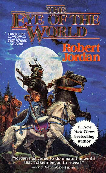 The Eye of the World cover, Wheel of Time