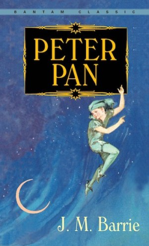 Peter Pan, cover, Barrie