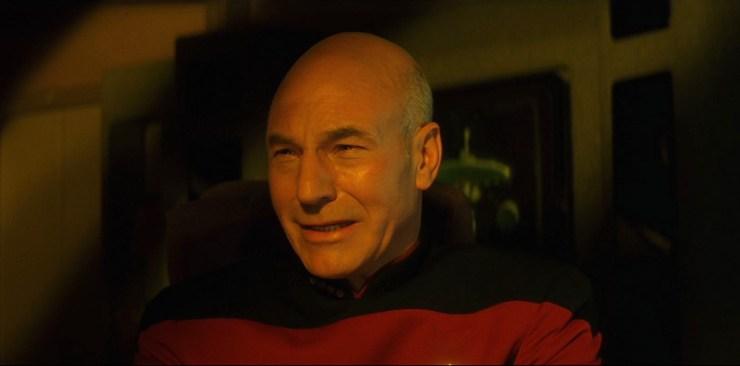 Star Trek Generations Picard crying