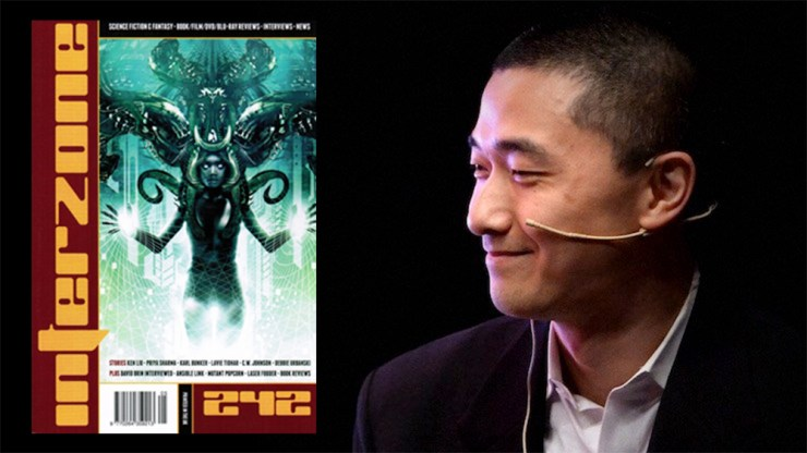 Ken Liu story The Message from Interzone issue 242