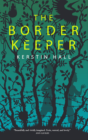 The Border Keeper, Kerstin Hall, cover