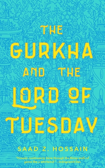 The Gurkha and the Lord of Tuesday, cover