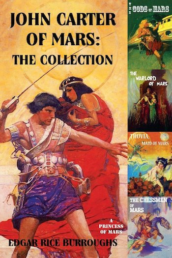 John Carter of Mars, Edgar Rice Burroughs, cover