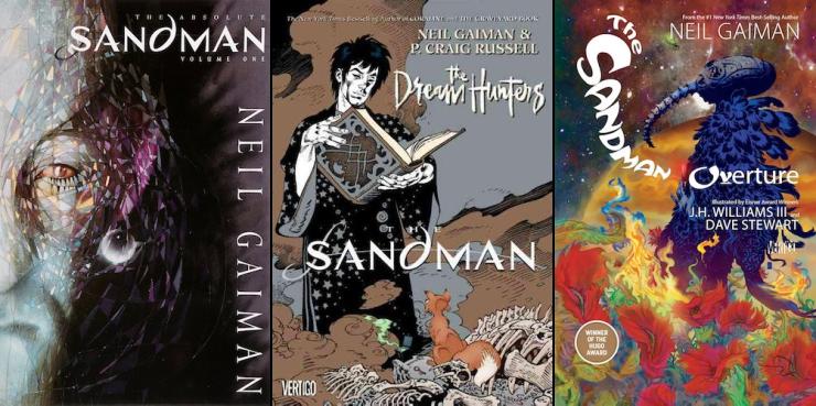 expansive SFF series 9+ books Sandman Neil Gaiman