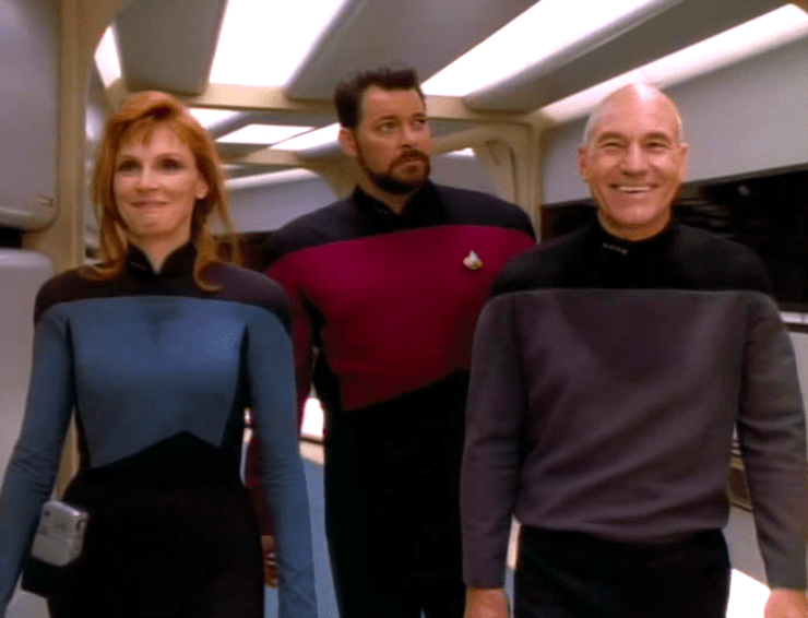 Star Trek: The Next Generation, Attached