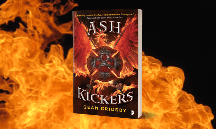 Page-Turning Science Fantasy: Ash Kickers by Sean Grigsby