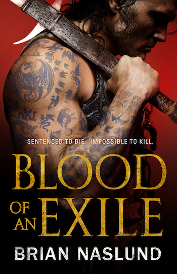 Blood of an Exhile cover, Brian Naslund