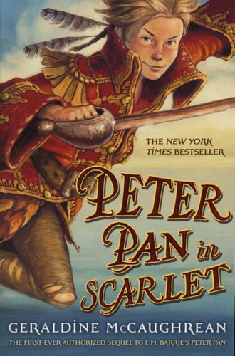 Peter Pan in Scarlet cover