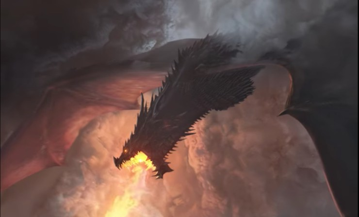 The Rage of Dragons book trailer Evan Winters
