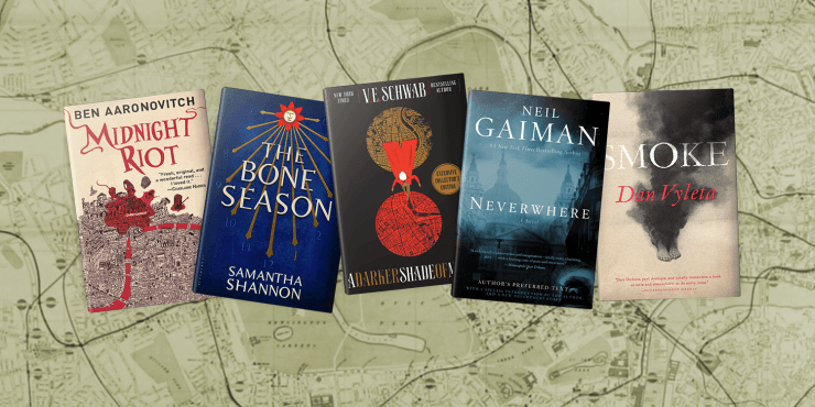 Blog Post Featured Image - Time-Hopping Across 5 Fantasy Londons