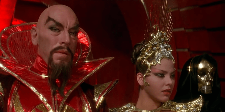 """Should we stop the torture?"""" — Two Versions of Flash Gordon 