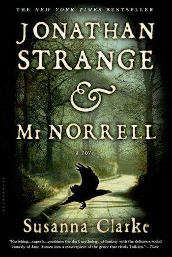 Jonathan Strange and Mr Norrell, cover