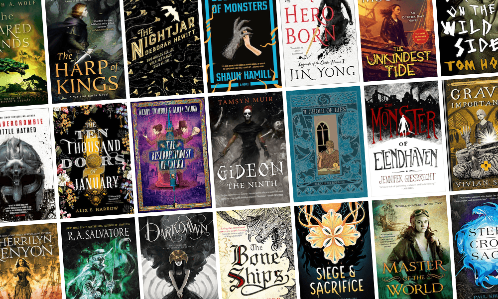 All the New Fantasy Books Coming out in September!