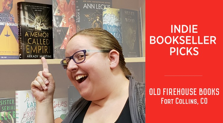 Blog Post Featured Image - Sci-Fi & Fantasy Indie Bookseller Picks: Old Firehouse Books in Fort Collins, CO