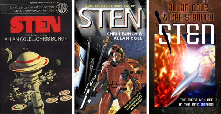 Space Opera, Tragedy, and Revenge: Sten by Allan Cole and Chris Bunch