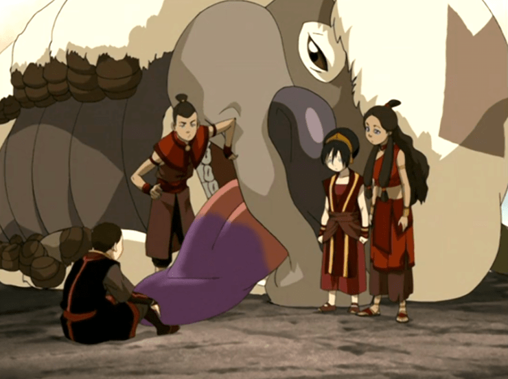 Avatar: The Last Airbender, Appa, the Painted Lady