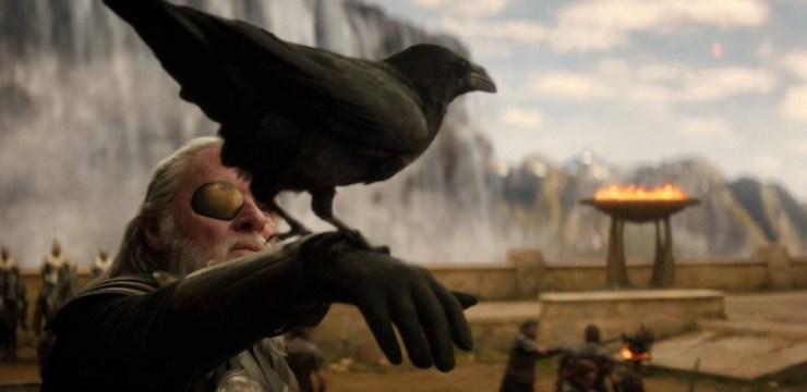 Thor: The Dark World, Odin, ravens