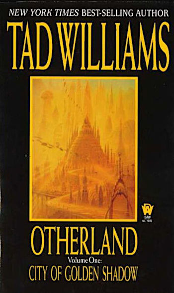 Otherland: City of Golden Shadow, cover
