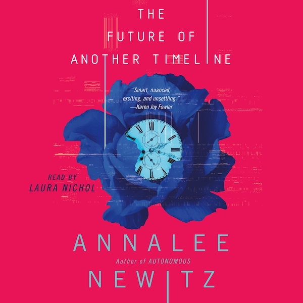 Blog Post Featured Image - Music, Mayhem, and the Making of an Audiobook: The Future of Another Timeline by Annalee Newitz