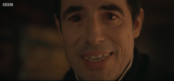 Blog Post Featured Image - BBC's Dracula Comes to Netflix January 4, 2020