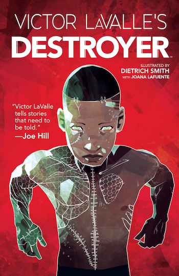 Frankenstein adaptation retelling context Destroyer Victor LaValle