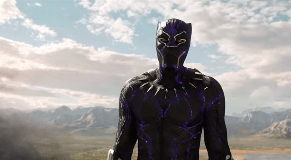 """It's hard for a good man to be king"" — Black Panther"
