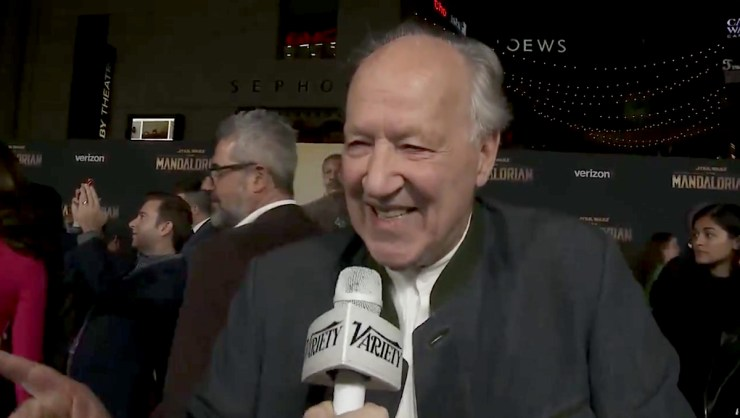 Blog Post Featured Image - The Mandalorian′s Werner Herzog Would NOT Let Them Take [REDACTED] Away From Him