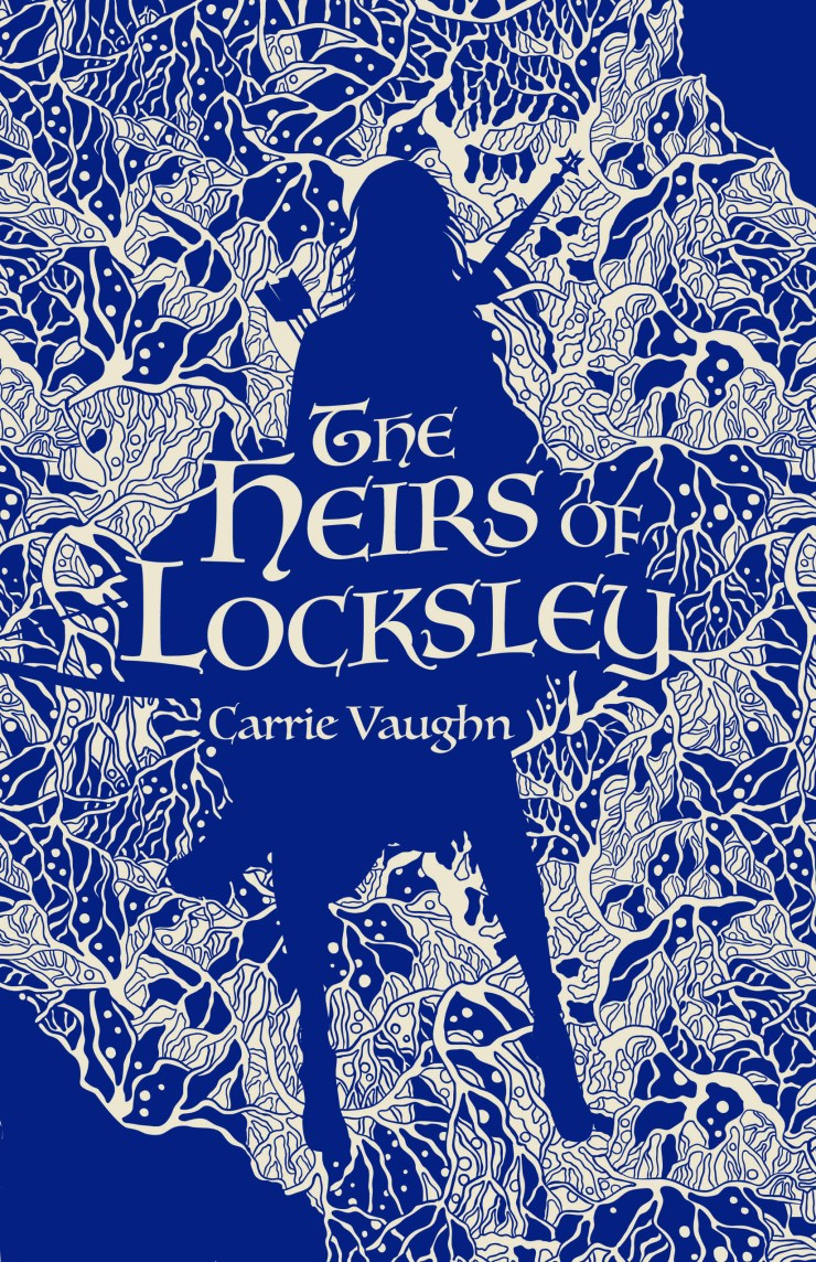 Book cover: The Heirs of Locksley by Carrie Vaughn