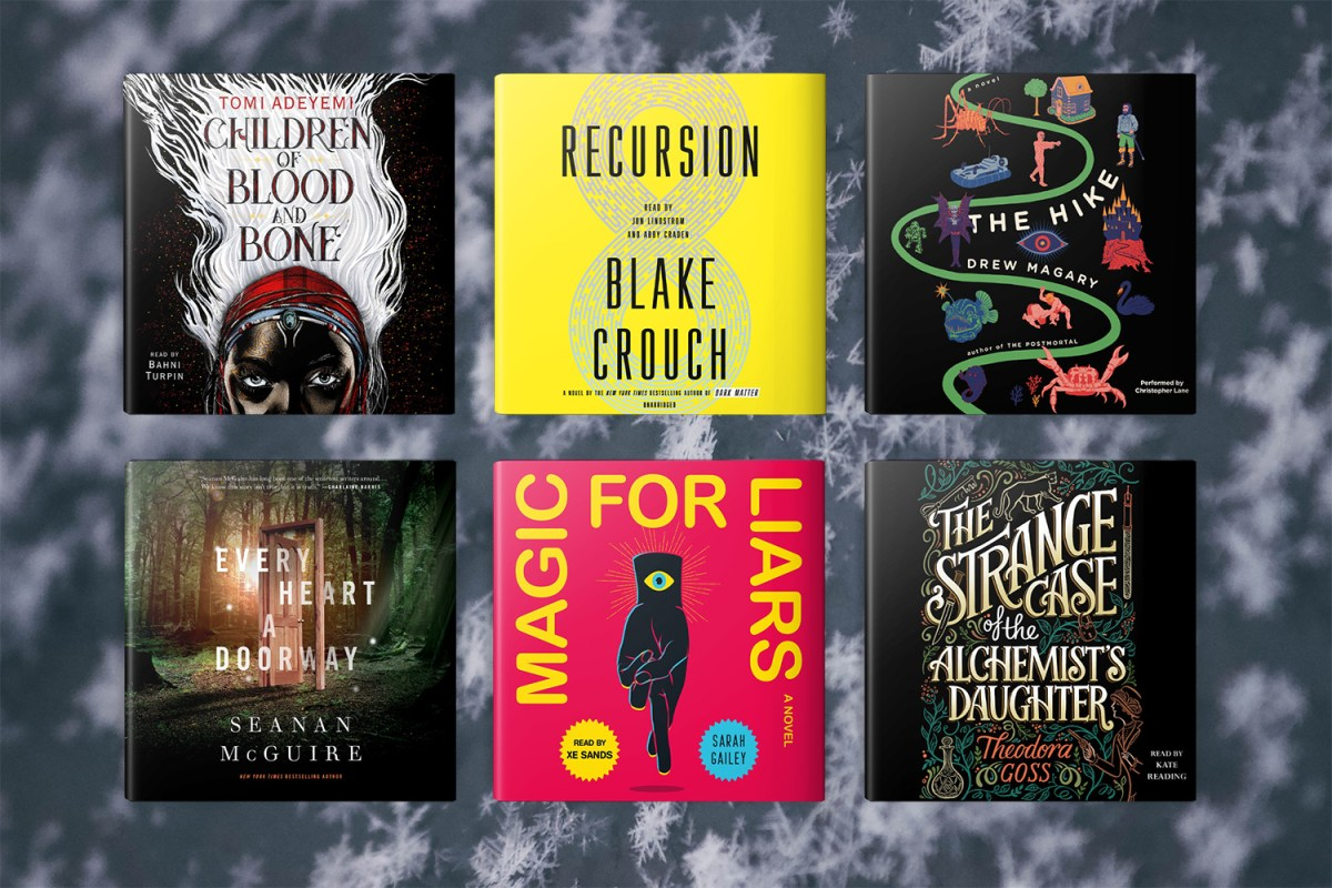 10 SFF Audiobooks for Holiday Traveling