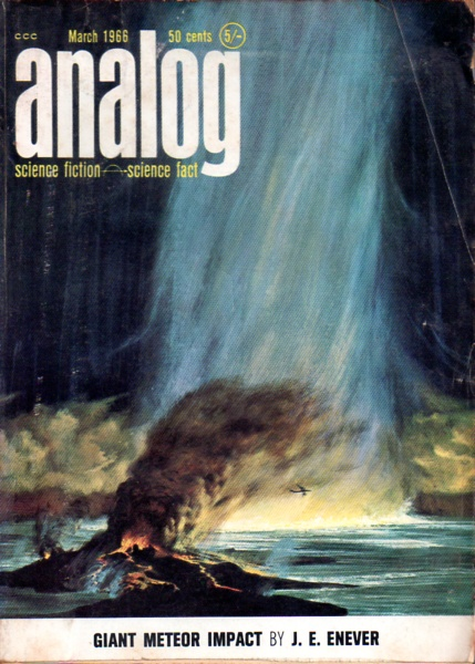 Cover of the March 1966 issue of Analog