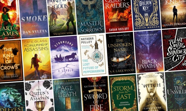 Blog Post Featured Image - All the New Fantasy Books Arriving in February!