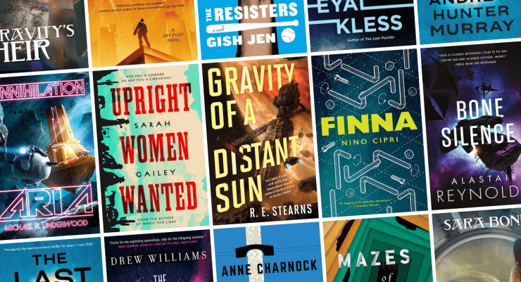 Blog Post Featured Image - All the New Science Fiction Books Arriving in February!