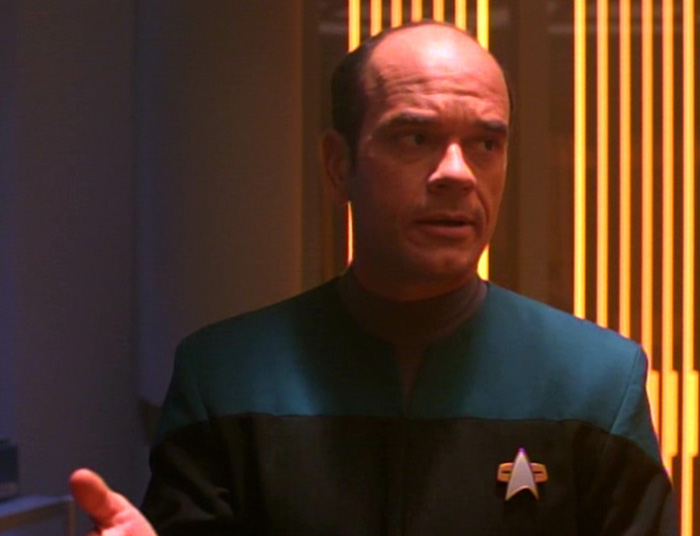 The Doctor (Robert Picardo) in Star Trek: Voyager