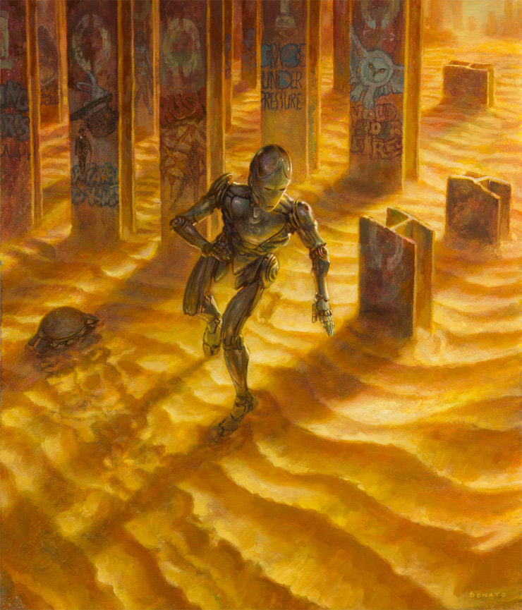 """""""The Body Electric"""" by Donato Giancola"""