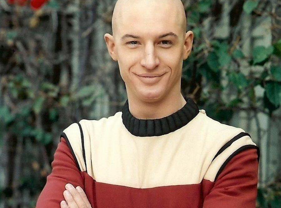 Tom Hardy as Picard in Starfleet Academy in Star Trek Nemesis