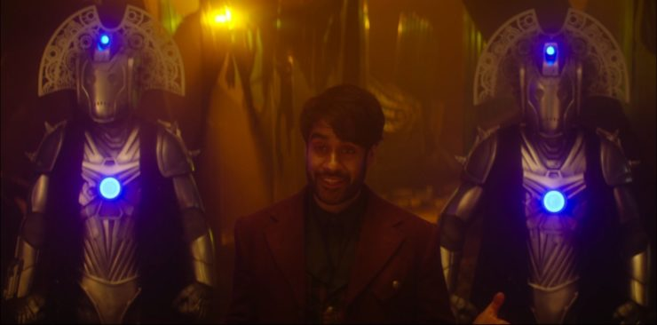 The Master Sacha Dhawan) in Doctor Who
