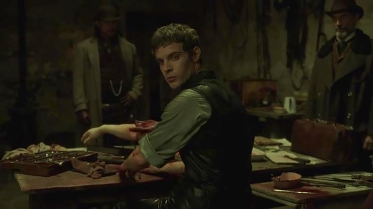Dr Frankenstein (Harry Treadaway) in Penny Dreadful