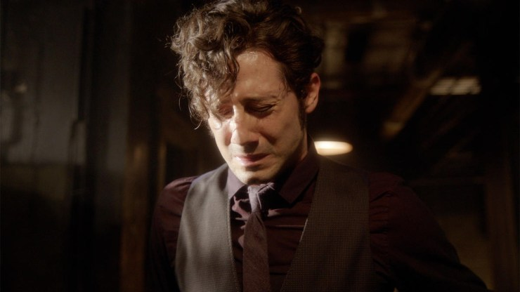 Eliot crying in The Magicians