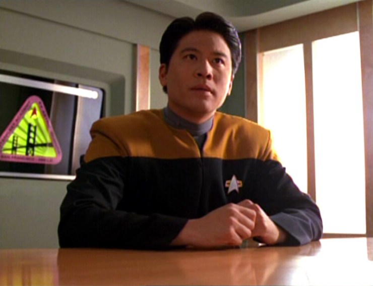 Harry Kim (Garrett Wang) in Star Trek: Voyager